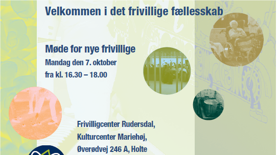 Invitation til frivilligmde